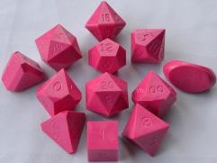 Full Poly Set Pink (12) (Limited Edition) (Plain)