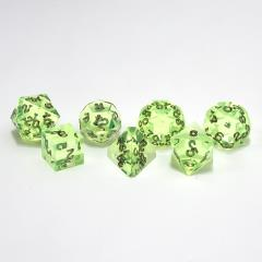 Poly Set Peridot w/Black (7)