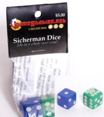 d6 16mm Sicherman Dice (2)