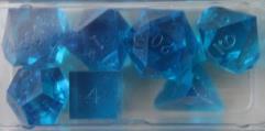 Poly Set - Aqua (7) (Plain)