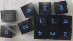 d6 Black w/Blue Ink (12)