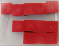 d6 Red (12) (Plain)
