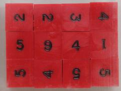 d6 Red w/Black Ink (12)