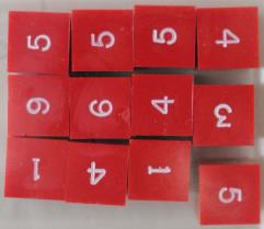 D6 Red w/White Ink (12)