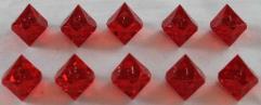 d10 - Ruby (10) (Plain)