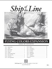 Flying Colors Expansion - Ship of the Line