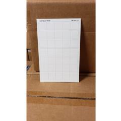 "Blank Counter Sheet 1"" (White) (10-Pack)"