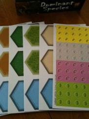 Dominant Species - Tile/Marker Sheets (7)