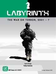 Labyrinth - The War on Terror, 2001 - ? (2nd Printing)