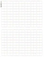 "Blank Counter Sheet 1/2"" (White) (10 Pack)"