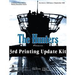 Hunters, The - German U-Boats at War, 1939-43 (3rd Printing) - Update Kit