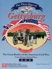 Three Days of Gettysburg, The (1st Printing)
