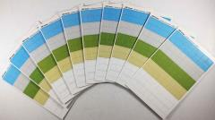 "Blank Counter Sheet 5/8"" (Multi-Colored) (10 Pack)"