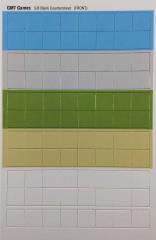 "Blank Counter Sheet 5/8"" (Multi-Colored)"