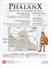 Great Battles of Alexander Deluxe Module #2 - Phalanx (2nd Edition)
