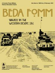 Beda Fomm - Wavell in the Western Desert, 1941