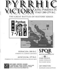 SPQR Module - Pyrrhic Victory
