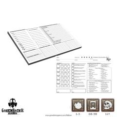 Character Record Pads