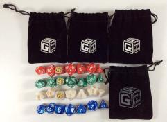 Heroic Dice Bundle w/Bags (28)