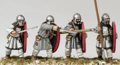 Arthurian Regular Spearmen w/Helmets