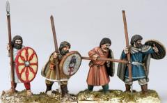 Arthurian Spearmen - Unarmoured/Irregular