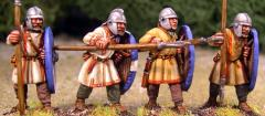 Arthurian Spearmen - Regular w/Helmets