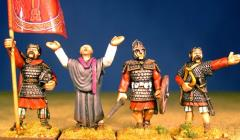 British & Welsh Kingdoms Characters - Standing