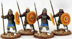 Byzantine Infantry Standing - Lamellar