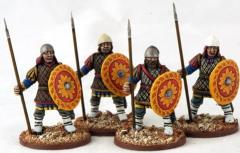 Byzantine Infantry Standing - Quilted