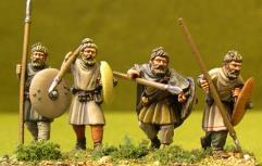 Unarmoured Warriors w/Swabian Knots