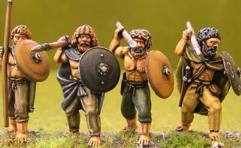 Irish Bare Chested Warriors #1