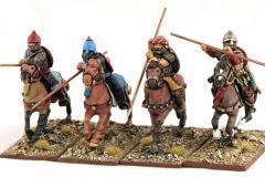 Seljuk Heavy Cavalry - Lance Levelled