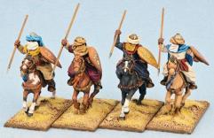 Mutatawwi'a Fanatics - Mounted w/Flat Teardrop Shields
