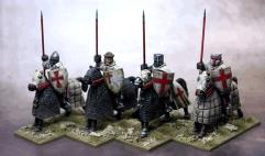 Military Order Knights w/Lances Upright