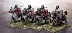 Military Order Knights w/Lances Couched