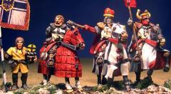 Teutonic Characters - Mounted