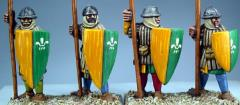 Frankish Foot Spearmen Standing
