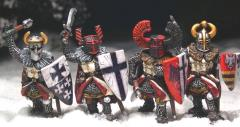 Teutonic Foot Knights w/Hand Weapons