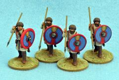 Late Roman Unarmored Infantry - Standing