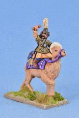 Mongol Shaman On Cammel