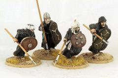 Berber Spearmen - Charging