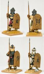 Ben Yusef's Black Guard - Standing w/Hippo Shields
