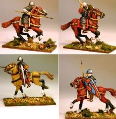 Norman/Breton Milites w/Mixed Poses