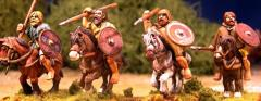 Pict Warriors - Mounted