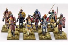 Crusader Sergeants - Mounted