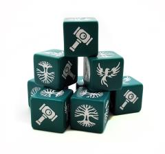 Saga Dice Set - Forces of Order (8)