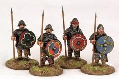Carolingian Hearthguards - On Foot