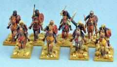 Moor - Hashid, Mounted