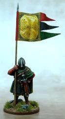 Anglo-Danish Warbanner & Bearer