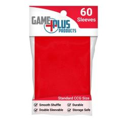 Standard Card Sleeves - Red (10 packs of 60)